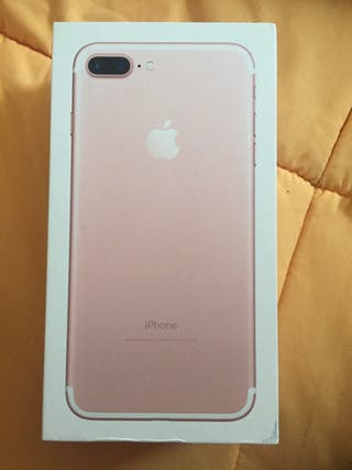 Caja Iphone 7plus rosa