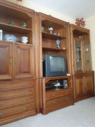 Mueble de salón madera maciza de pino