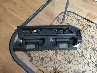 Soporte vertical PS4 Slim con ventilación