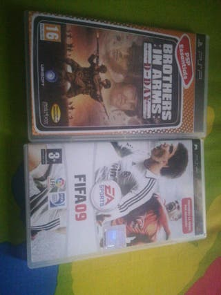 PSP juego Fifa
