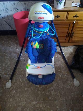 columpio bebe fisher price