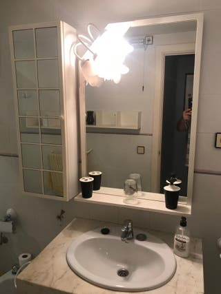 Espejo + armario de baño