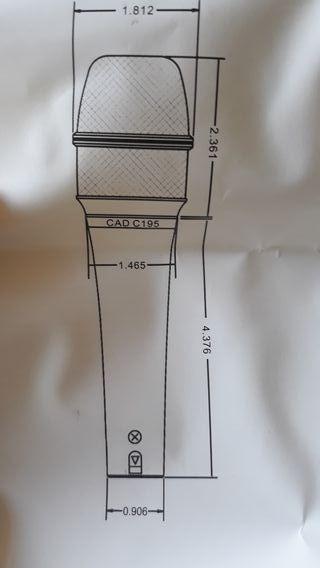 Micrófono CAD195