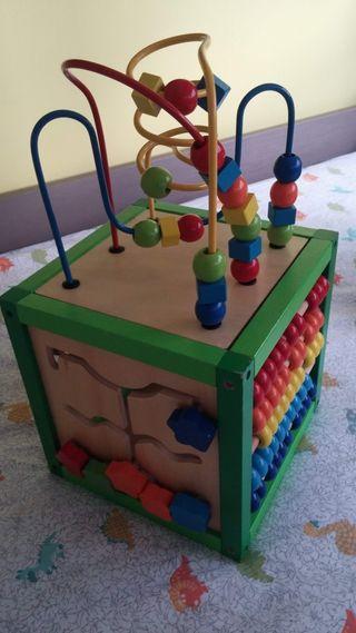 Cubo de madera actividades
