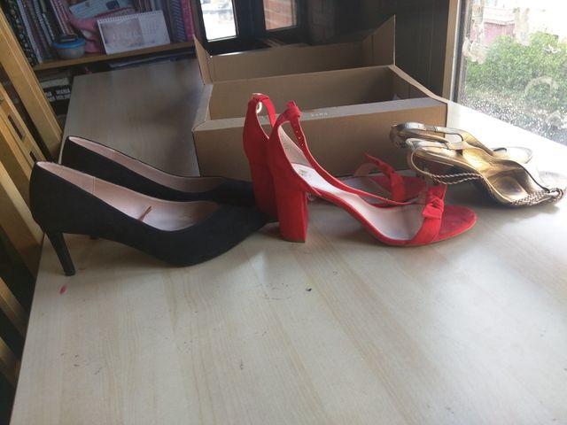 Pack de zapatos y sandalias de vestir número 41
