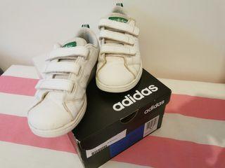 zapatillas Adidas blancas 29