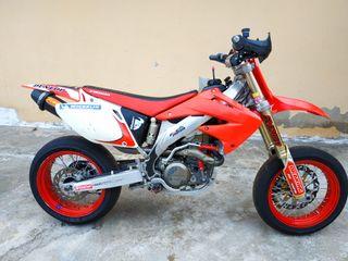 Supermotard Honda CRF 450
