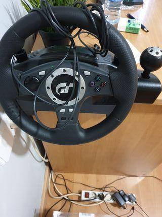 Volante Logitech pc /ordenador/ps3