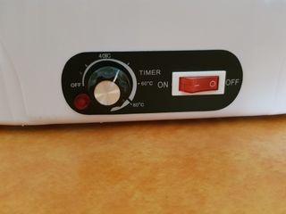 calentador/bañera parafina