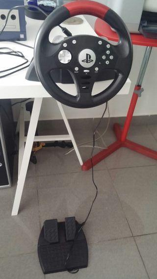 volante y pedales para ps3