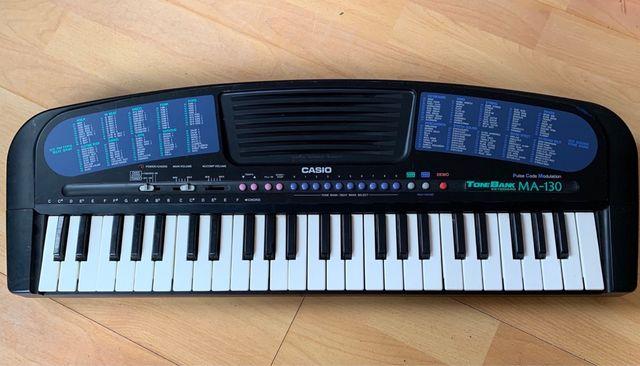 Piano electronico casio MA-130 - con pilas