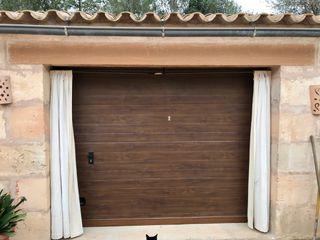 Puerta garaje automática