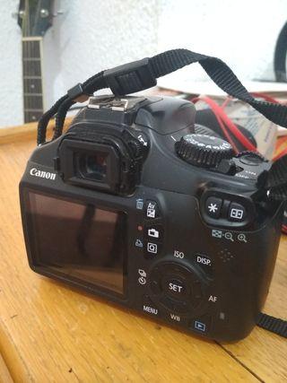 Canon 1100D + objetivo 18-55mm