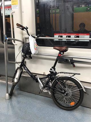 "Bicicleta Megamo Zambra 20"" Plegable"