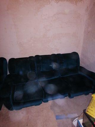 sillón con rinconera