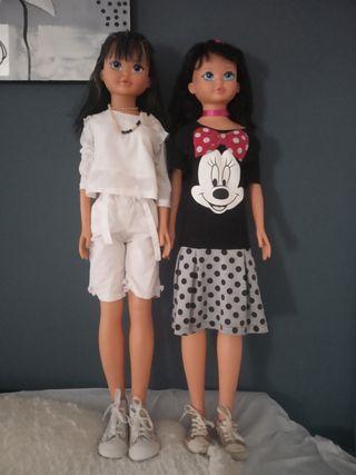 muñecas grande
