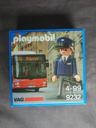 Playmobil 9232 conductor autobús promocional nuevo