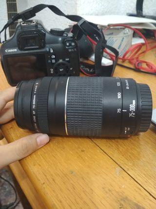 Teleobjetivo Canon 75-300mm