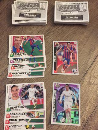 Cromos liga 2014-2015
