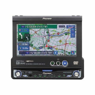 Sistema para coche con DVD, GPS, brujula...