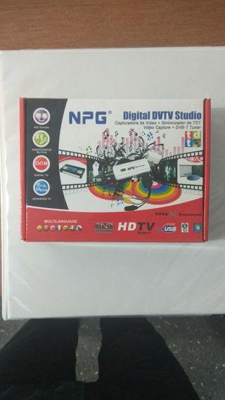 Capturadora Video NPG Digital DVTV Studio