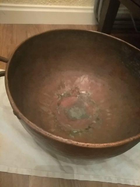 olla de cobre