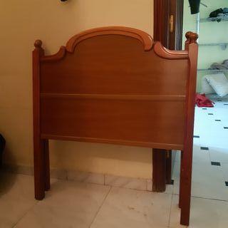 cabeceros de madera para cama