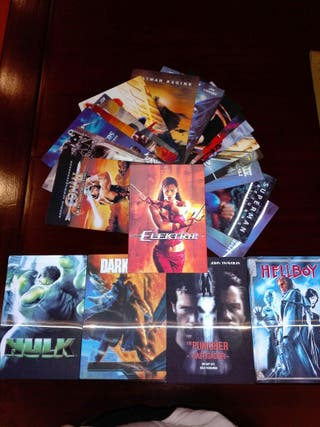 Colección Láminas Superhéroes Marvel y DC Comics