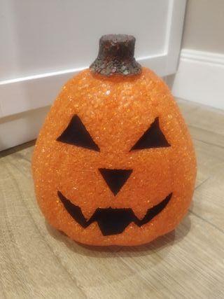 lampara de calabaza hallowen