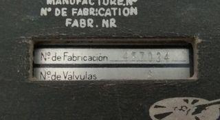 Radio Antigüa Telefunken Campanela