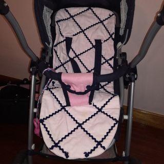 cochecito convertible en silla muñecas