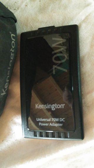 Cargador ordenador portátil para coche KENSINGTON