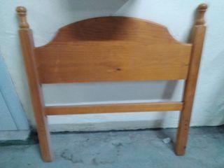 Cabecero de madera cama 90