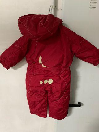 Mono esquí niño T18 meses