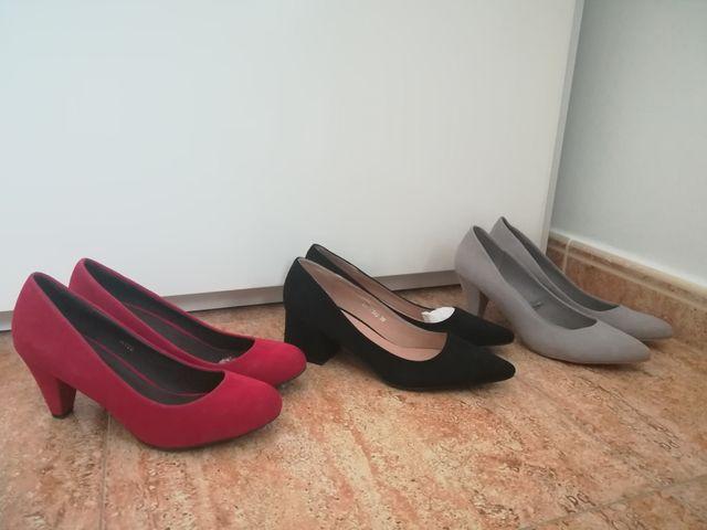 Zapatos tacon n°39