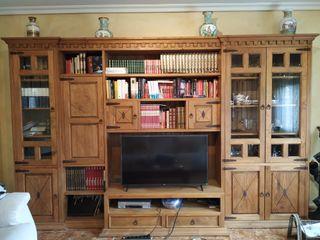 Muebles de salón en madera maciza