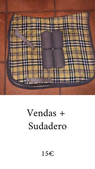 Pack Vendas + Sudadero