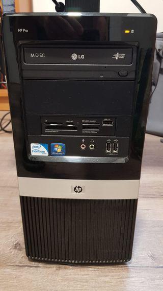 Ordenador sobremesa HP Pro 3120 MT + monitor LG