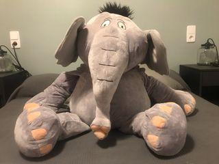 Peluche muñeco elefante gigante