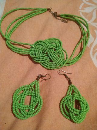 collar +pendientes