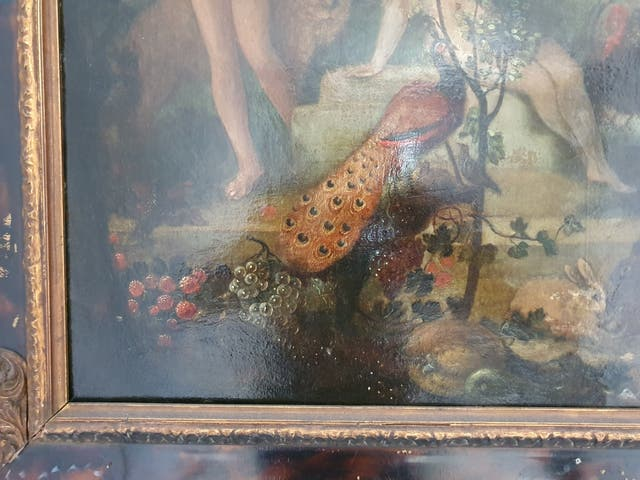 Oleo sobre cobre siglo xvii