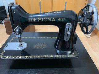 Máquina de coser vintage sigma