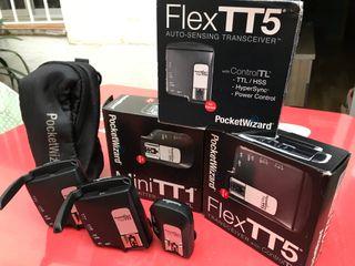 Pack PocketWizard TT1 + 2 unidades TT5 Canon