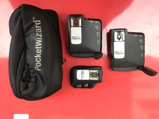 Pack PocketWizard TT1 + 2 unidades TT5 Canon