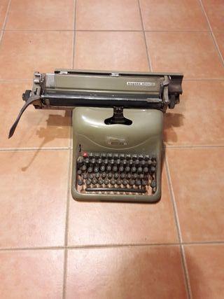maquina escribir hispano olivetti 1967