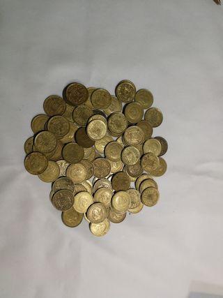 monedas 1 peseta año 1966