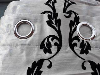Juego de 4 cortinas modernas y elegantes