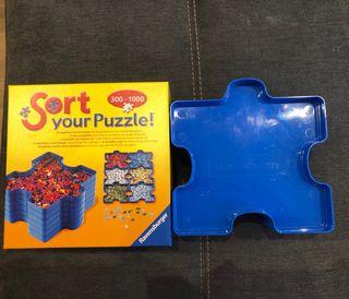 Clasificador piezas puzzle