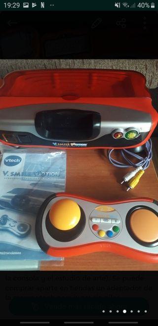 Consola V.SMILE Motion con 5 juegos y accesorios