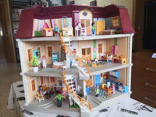 Playmobil casa grande (5302) + Hab. (5329 a 5335)